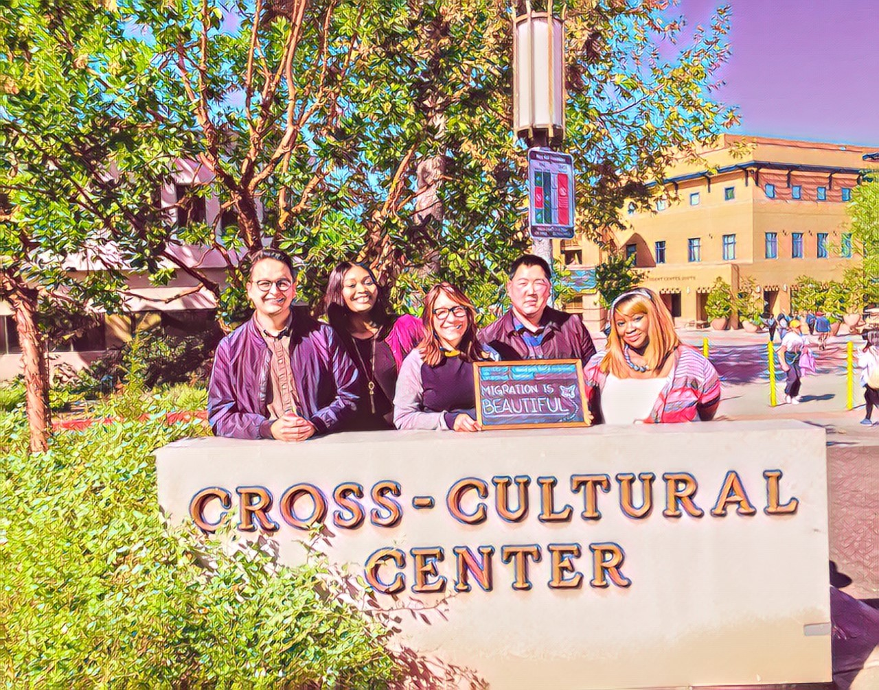 Cross-Cultural Center Professional Staff